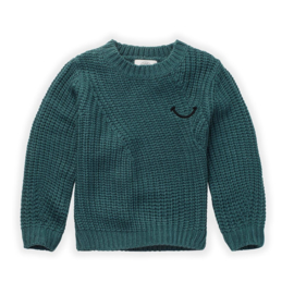 Sproet&Sprout - Sweater Smile Pine Green