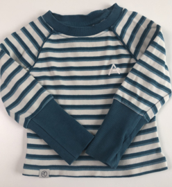 ALBA -  Alvin Blouse Blue Stripes