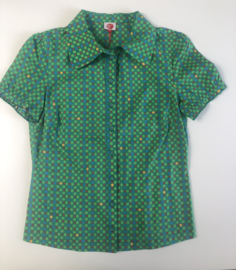 Who's that girl - Green Dots Shirt S