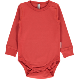 Maxomorra - Body Long Sleeve Rusty Red