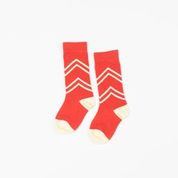 Alba of Denmark - Annie Knee Socks Spicy Coral