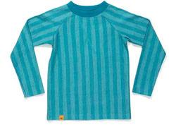 Alba - Gwain Blouse Blue Striped