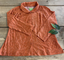 Lily Balou - Odette Shirt Texture Red 116