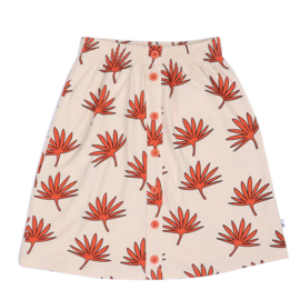 CarlijnQ - Long Skirt Palm Leaf