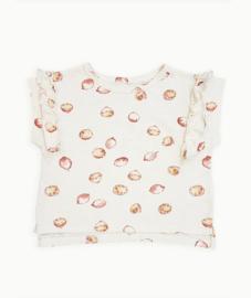 Play Up - T-Shirt Ruffles with Lemons Print