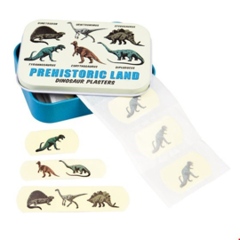 Rex London - Prehistoric Land Plasters in a Tin Box (Pack of 30)