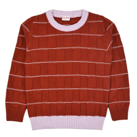 Baba - Alex Pullover Knitwear Red
