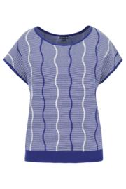 Lily Balou Ladies - Bella Knit Top Dazzling Blue