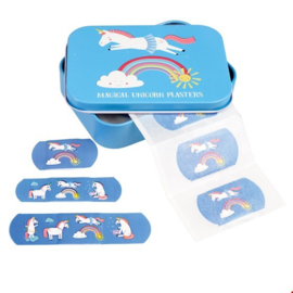 Rex London - Magical Unicorn Plasters in a Tin Box (Pack of 30)