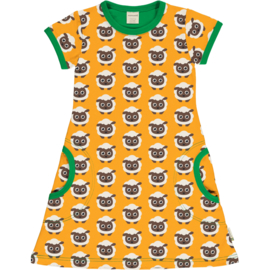 Maxomorra Classic -  Shortsleeve Dress Sheep