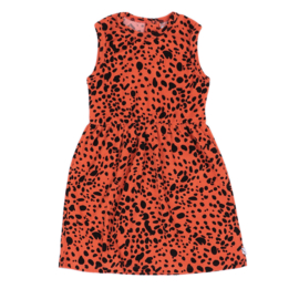 CarlijnQ - Tanktop Dress Spotted Animal