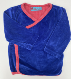 Froy&Dind - Blauw Velours 86/92