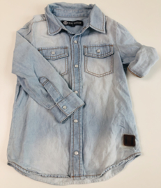 Beau Hudson - Light Denim Hemd 3 jaar