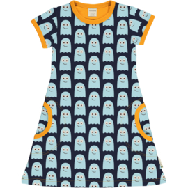 Maxomorra Classic -  Shortsleeve Dress Ghost
