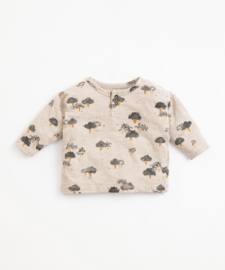 Play Up - T-Shirt with Trees Print Simplicity