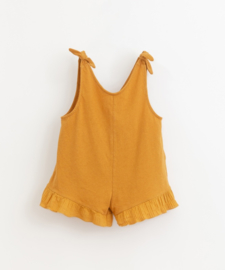 Play Up - Short Jumpsuit with Frill Hazel