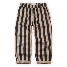 Sproet & Sprout Capsule - Pants Painted Stripe Sesame