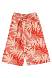 Lily Balou - Lana Wide Trousers Palm Leaves