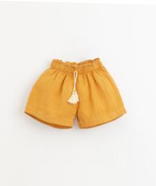 Play Up - Linen Shorts Sunflower