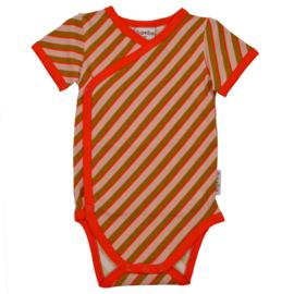 Baba Kidswear - Wrap Body Short Sleeve Diagonal