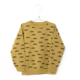 Lötiekids - Sweatshirt Fishes Sun Yellow