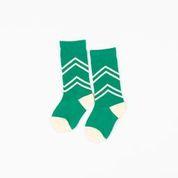 Alba of Denmark - Annie Knee Socks Pepper Green