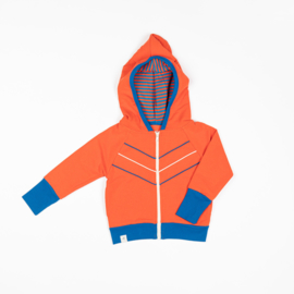 Alba of Denmark - Adam Zipper Hood Orange.com