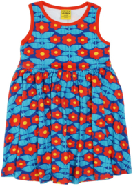 Duns Sweden - Kurbits Blue Sleeveless Gather dress