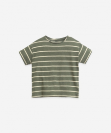 Play Up - Striped Round Neck T-Shirt Cocoon