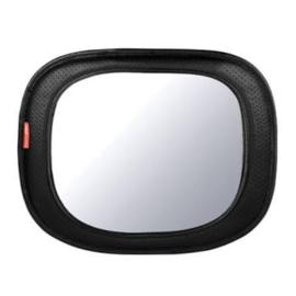 Skip Hop  -  Black Faux Leather Autospiegel