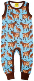 Duns Sweden - Turquoise Goat Dungaree
