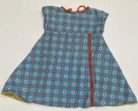 Alba - Alberte Flower Dress Blue 92/98
