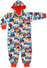 Duns Sweden - Jellyfish Teal/Purple Onesie
