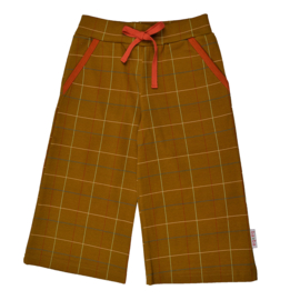 Baba - Culotte Checked Mustard