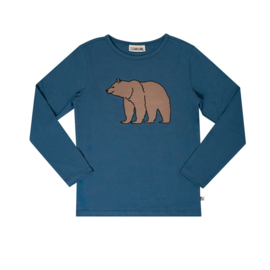 Carlijn Q - Longsleeve with Print Grizzly