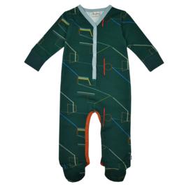 Ba*Ba Kidswear - Footed Bodysuit Sportfield