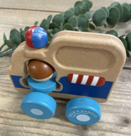 Dille & Kamille by Plantoys - Wooden Car
