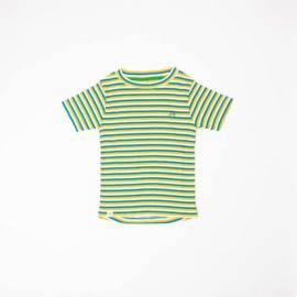 Alba Of Denmark - The Bell T-Shirt Turkish Tile Stripes