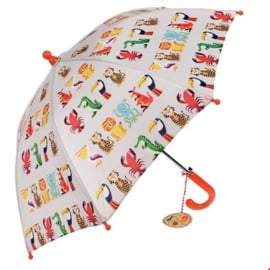 Rex London - Colourful Creatures Children's Umbrella