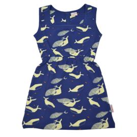 Baba Kidswear - Billie Dress Whales
