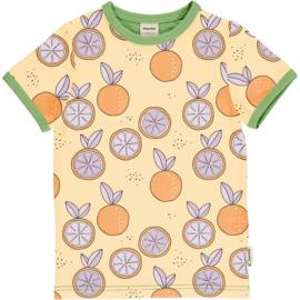 Meyadey - Top Short Sleeves Citrus Sun