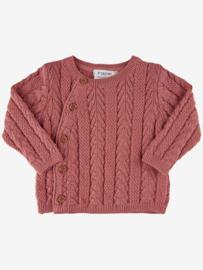Fixoni - Cardigan Knit Old Rose