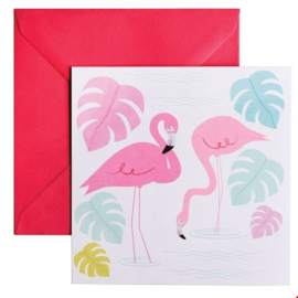 Rex London - Flamingo Bay Birthday Card