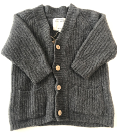 Little Indians - Antracite Knitted Cardigan 86/92