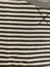 KidsCase - Kaki/Brown Stripes 98/104
