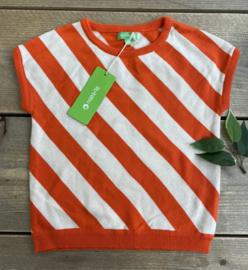 Lily Balou - Bella Top Knitwear  Red Orange 110/116
