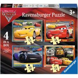 Puzzel Cars - 4 in a box