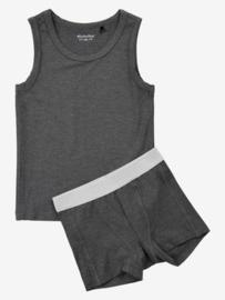 Minymo - Dark Grey Melange BAMBOO Underwear Boys