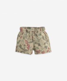 Play Up - Cotton Swimming Shorts Joao Leafs