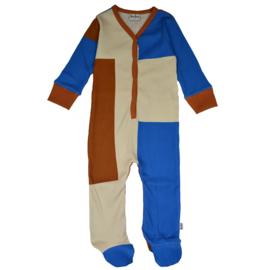 Ba*Ba Kidswear - Footed Bodysuit Colorblock